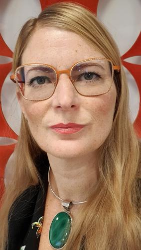 Porträtt på Ordblicks vd och grundare Lena Malmsten Bäverstam.